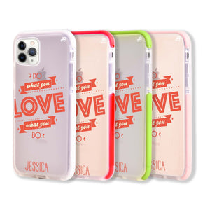 Do what you love Shockproof Bumper Case