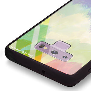 Watercolor Abstract Samsung Note 9 Glass Case