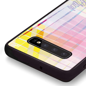Glorious Samsung S10 Plus Glass Case