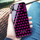 Wave Dots iPhone XS Max Glass Case