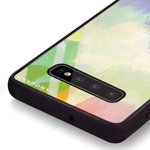 Watercolor Abstract Samsung S10 Plus Glass Case