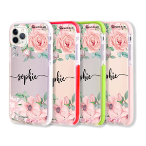 Forever Love Rose Frosted Bumper Case