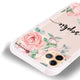 Forever Love Rose iPhone 11 Pro Max Frosted Bumper Case