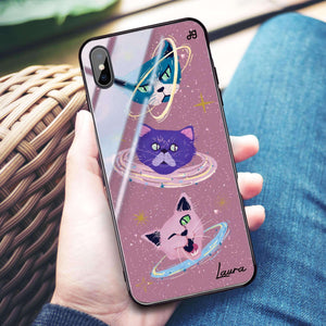Kittens Planet I iPhone XS Max Glass Case