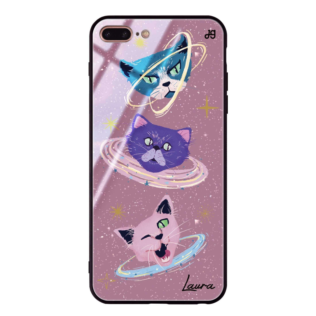 Kittens Planet I iPhone 8 Plus Glass Case