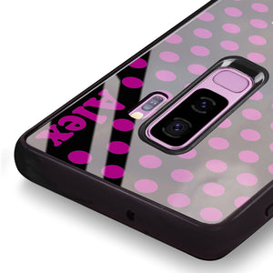 Wave Dots Samsung S9 Plus Glass Case