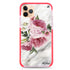 Floral & Marble iPhone 11 Pro Max Shockproof Bumper Case
