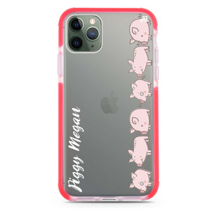 Piggy Corps Frosted Bumper Case