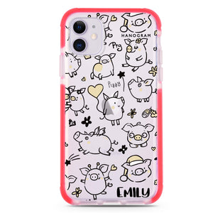 Cute Unicorn iPhone X Case