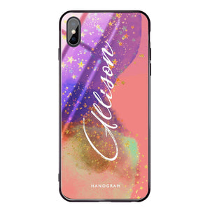 Among Stars iPhone XS Max Glass Case