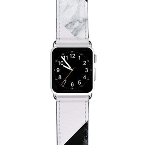 B & W APPLE WATCH BANDS