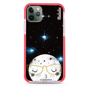 Glasses Moon Frosted Bumper Case
