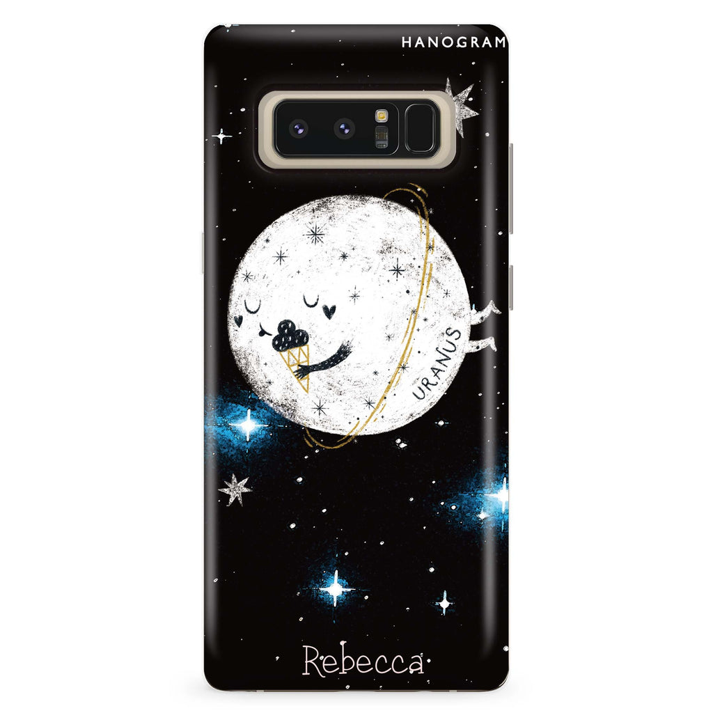 Funnt Uranus Samsung Note 8 Soft Clear Case