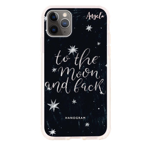 To the moon and back Frosted Bumper Case
