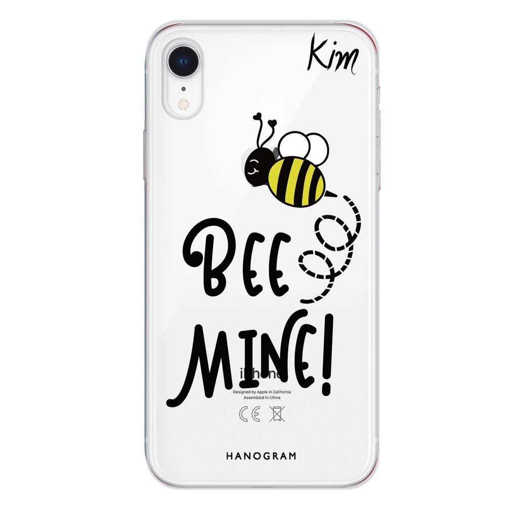 Bee Mine iPhone XR Soft Clear Case