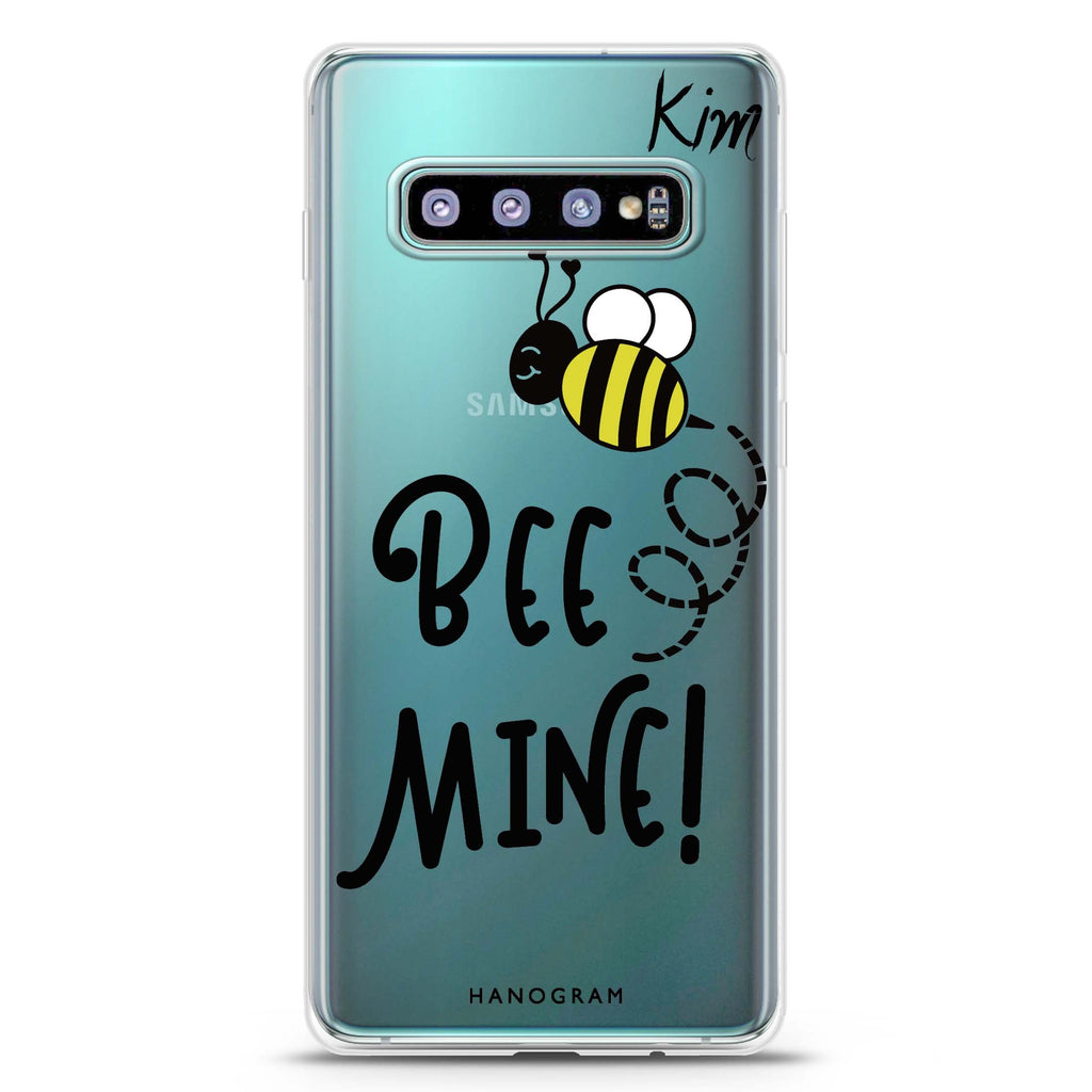 Bee Mine Samsung S10 Plus Soft Clear Case
