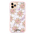 Floral & White Marble iPhone 11 Pro Max Shockproof Bumper Case
