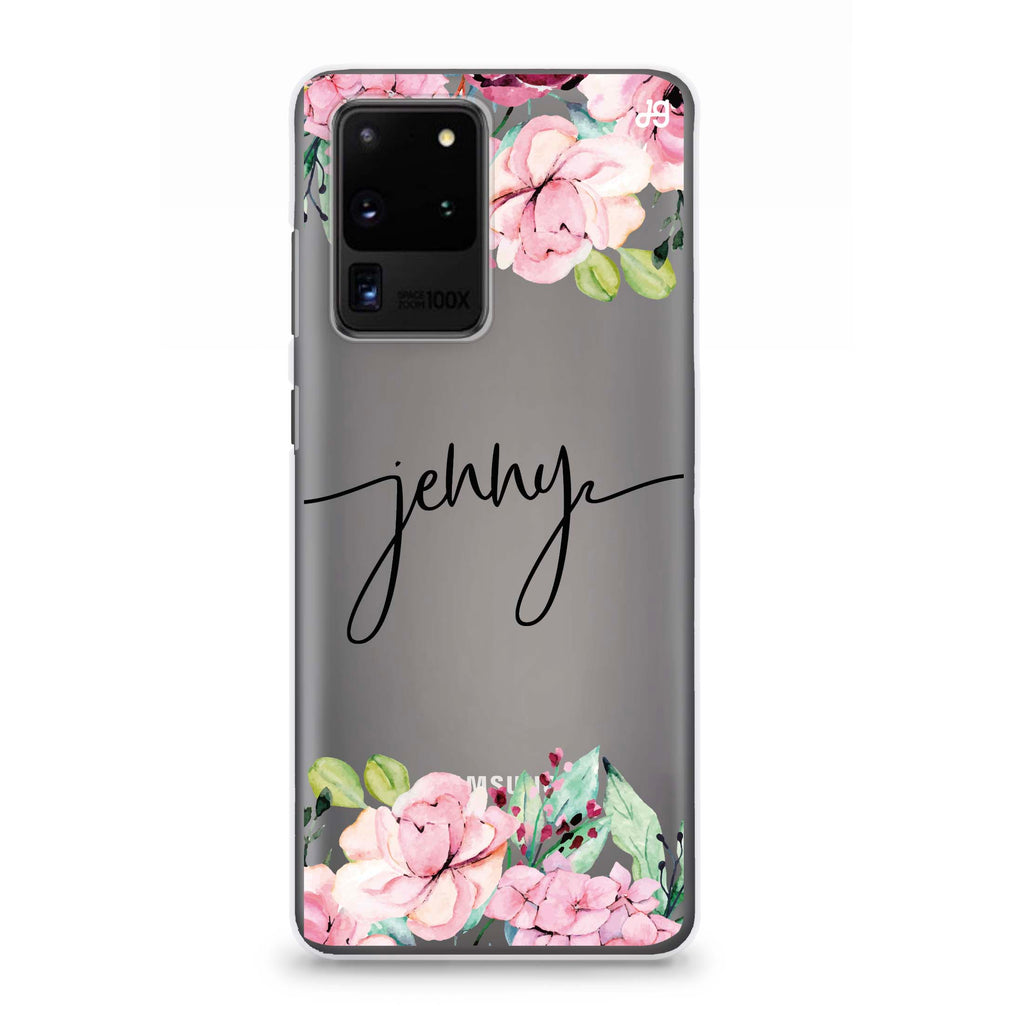 Floral Dream I Samsung S20 Ultra Soft Clear Case
