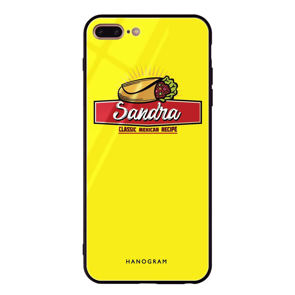 I Love Fast Food iPhone 8 Plus Glass Case