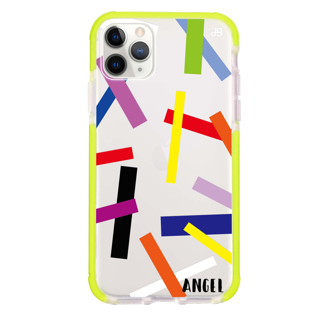 Abstract Art Shockproof Bumper Case