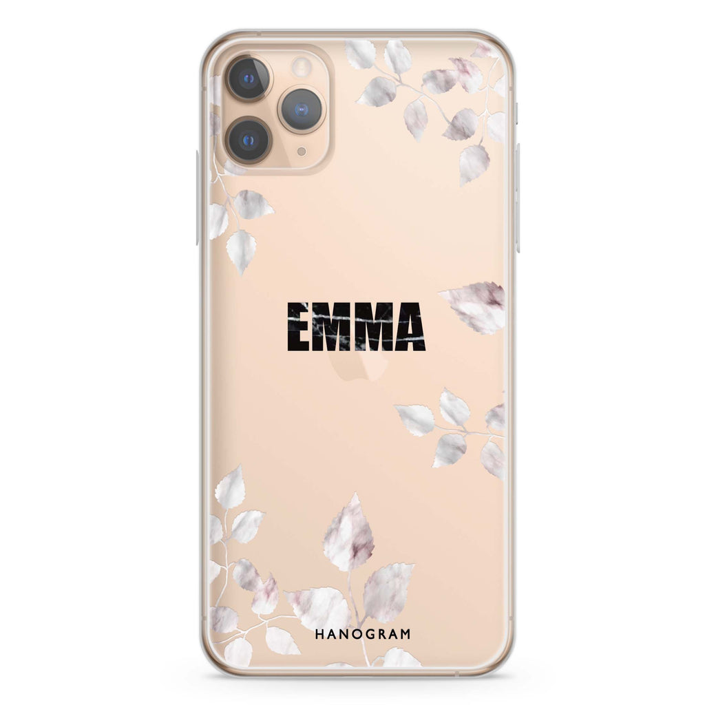 Life Simple Floral iPhone 11 Pro Max Soft Clear Case