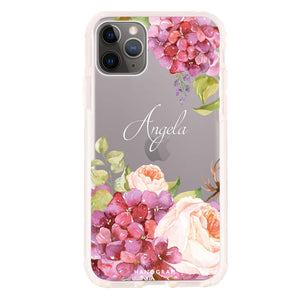 Watercolor Flowers Frosted Bumper Case