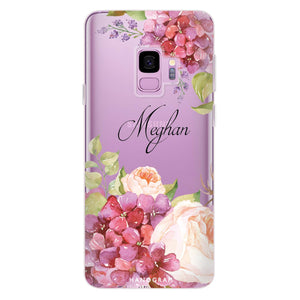 Pretty Floral Samsung S9 Soft Case