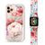 Awakening Watercolor Flowers - Frosted Bumper Case and Watch Band