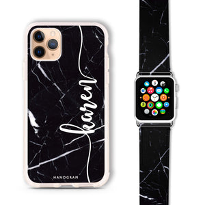 Marble Edition VIII - Frosted Bumper Case and Watch Band