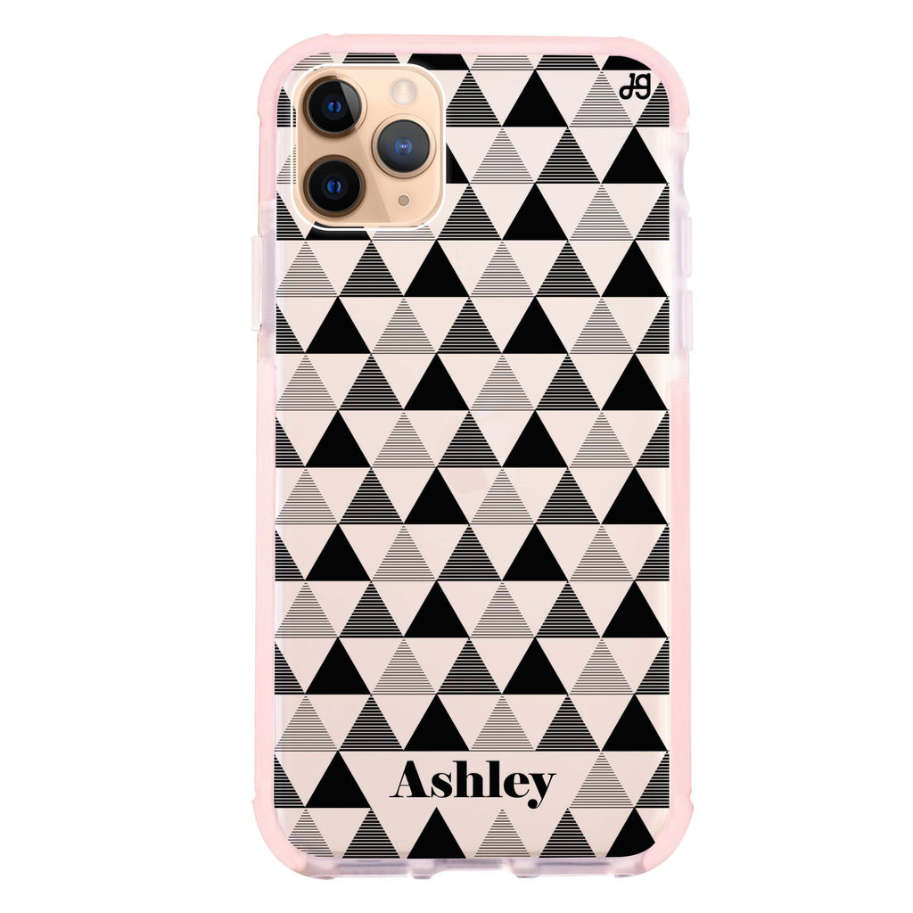Triangles Seamless Shockproof Bumper Case
