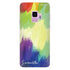 Watercolor Abstract Samsung S9 Soft Clear Case