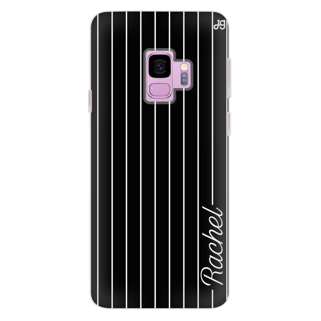 Stripes I Samsung S9 Soft Clear Case
