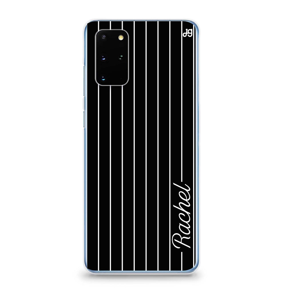 Stripes I Samsung S20 Soft Clear Case