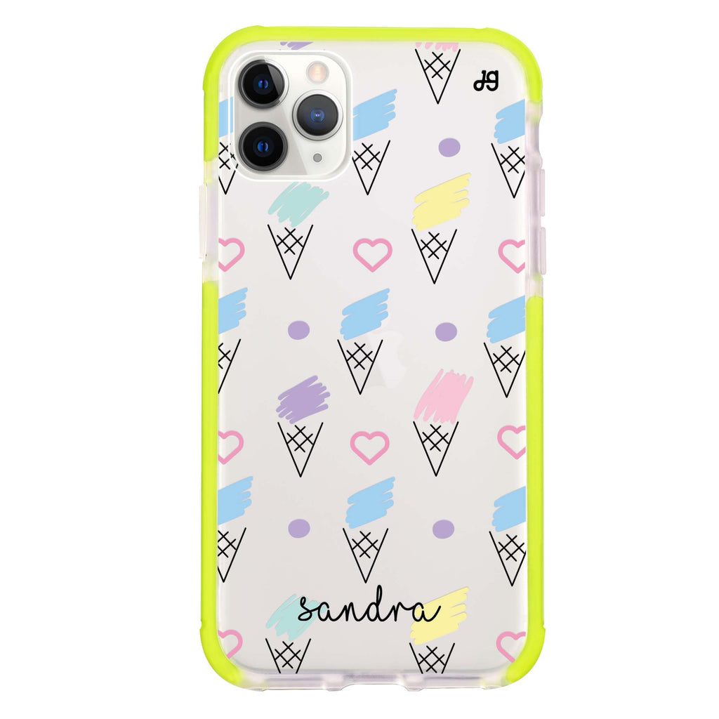 Ice cream Pattern Shockproof Bumper Case