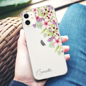 Tropical Leafs - iPhone X Case
