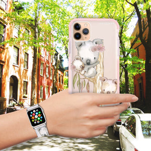 Koala - Frosted Bumper Case and Watch Band