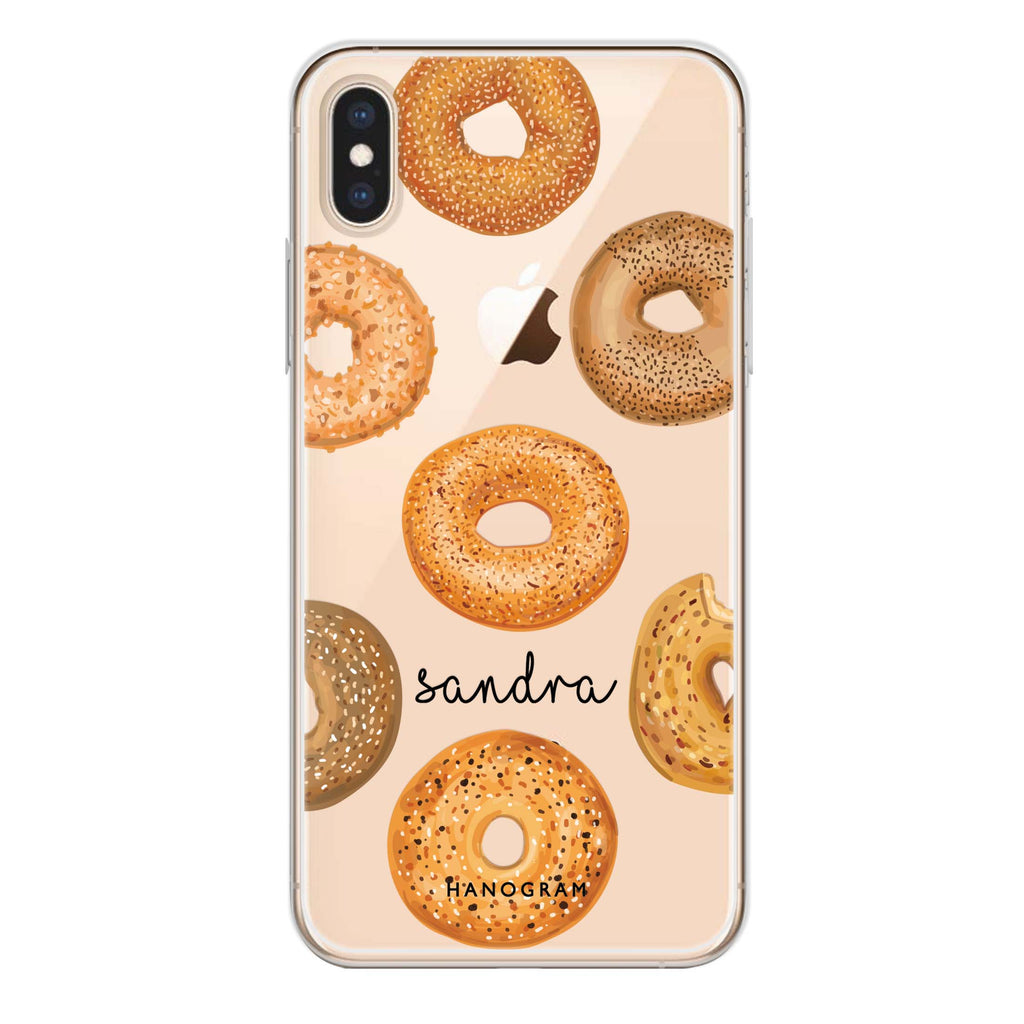 Delicious Donuts iPhone XS Max Soft Clear Case