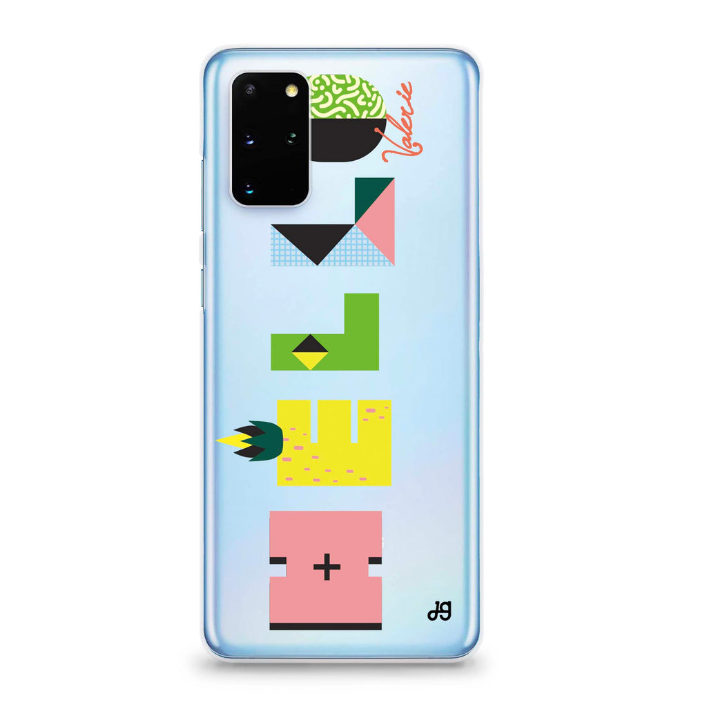 Artistic Foods Samsung S20 Plus Soft Clear Case