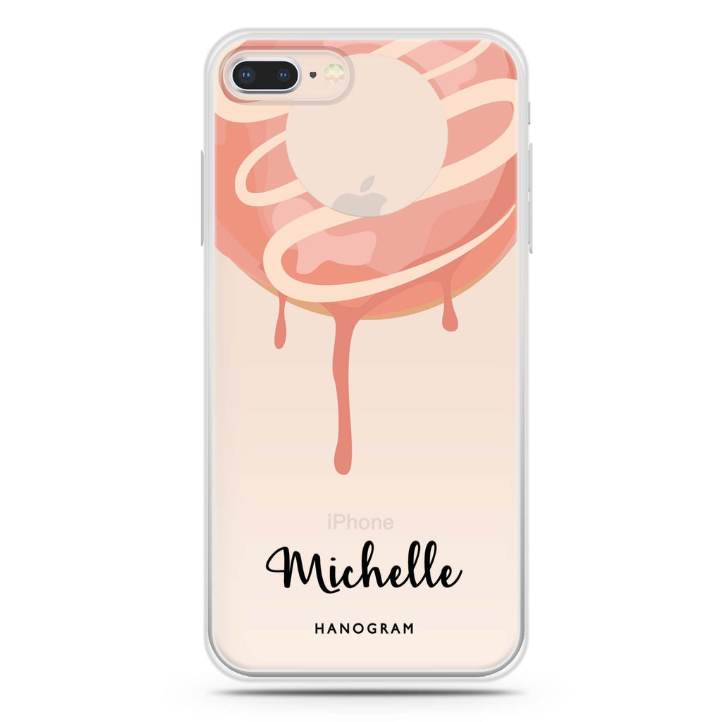 Yummy Donut I iPhone 7 Plus Soft Clear Case
