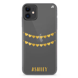 Matching Couple - Left Hand heart Custom Case