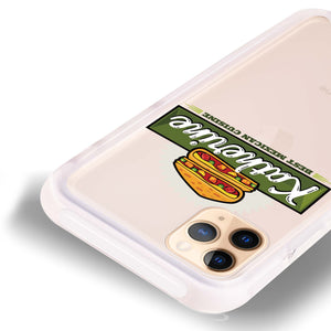 Pizza Food II Frosted Bumper Case