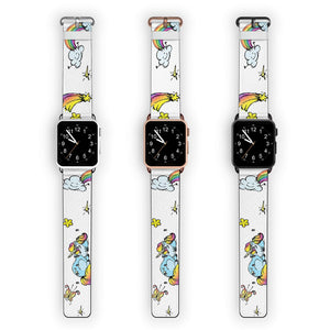 Rainbow Unicorn APPLE WATCH BANDS