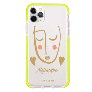 Lovely Face II Shockproof Bumper Case