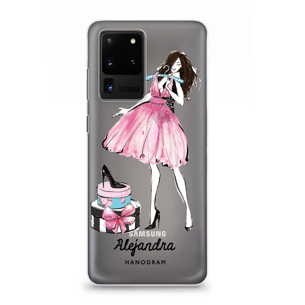 Fashion Party Samsung S20 Ultra Soft Clear Case