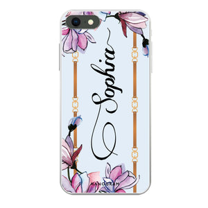 Floral and Me Custom iPhone X Case
