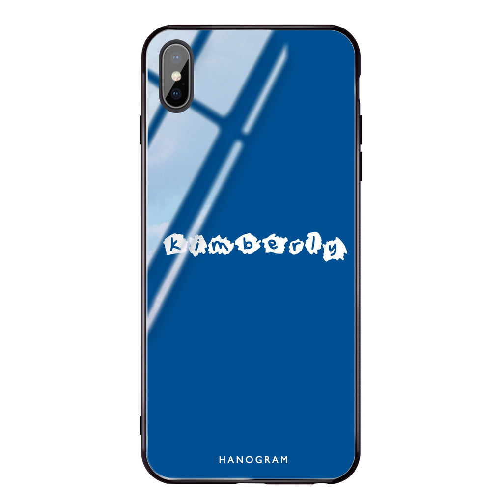 Sticker Princess Blue Glass Case
