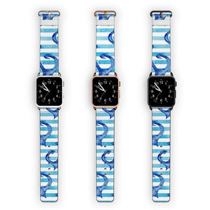 Blue Anchor Unicorn APPLE WATCH BANDS