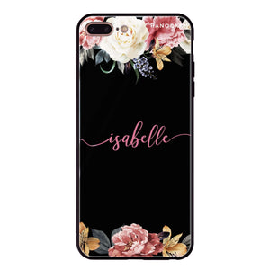 Art of Classic Floral iPhone 8 Plus Glass Case