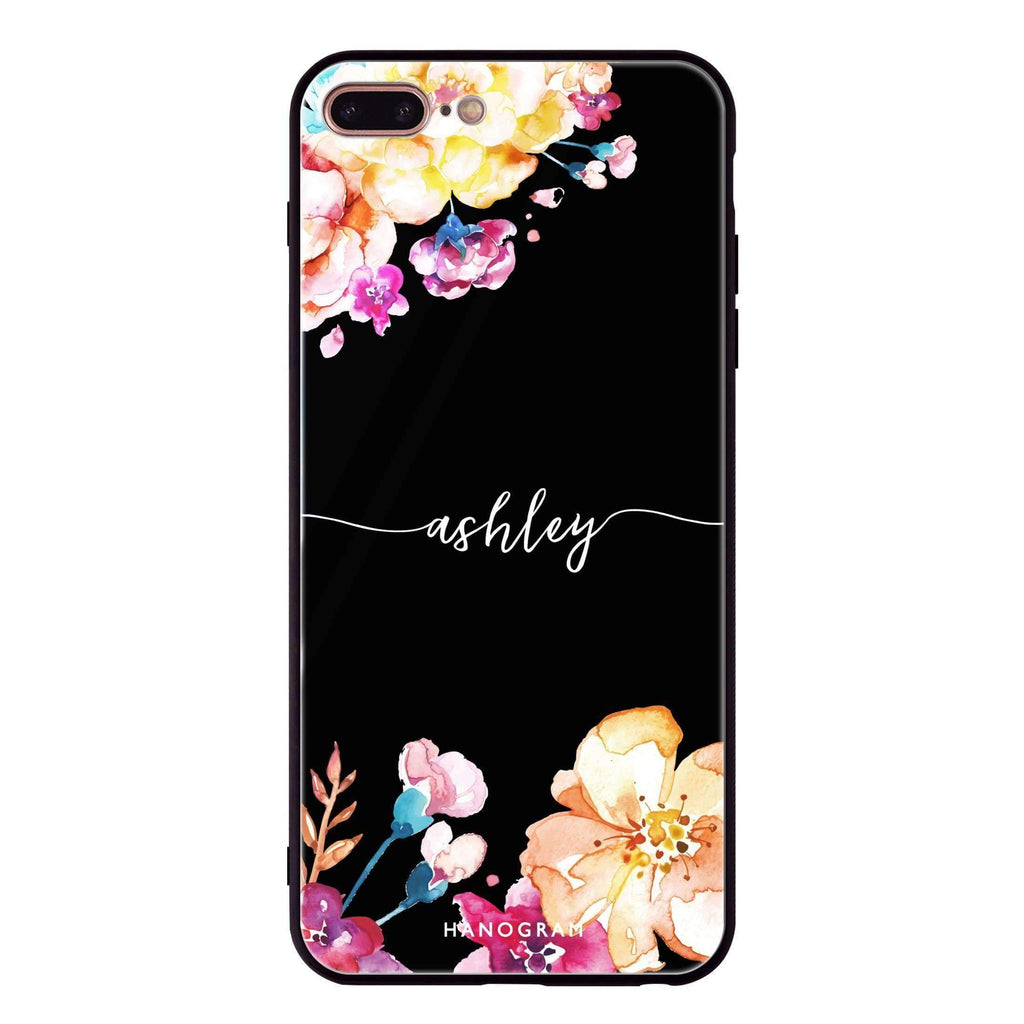 Art of Flowers iPhone 8 Plus Glass Case