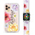 Colorful Watercolor Flowers - Frosted Bumper Case and Watch Band